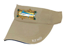 Blue Marlin Fishing Visor