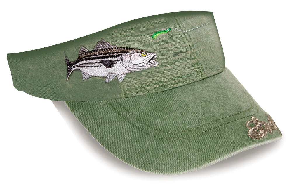 Striped Bass Fishing Visor