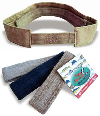 Replacement Sweatbands for Fishing Hats & Visors